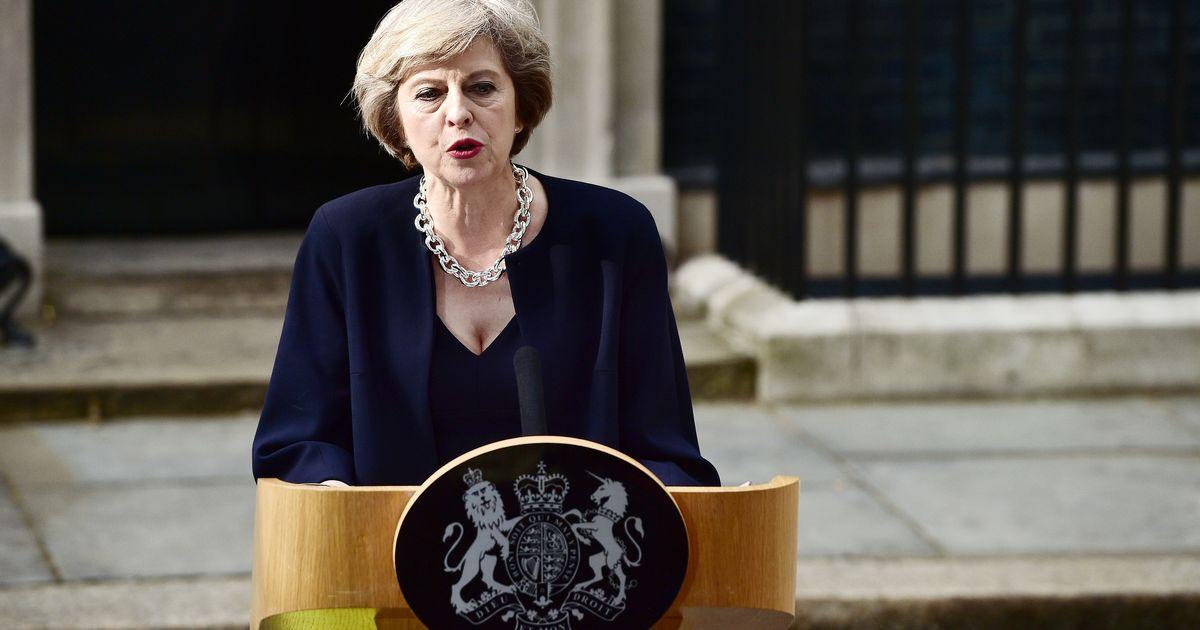 Theresa May e il GrandeBluff